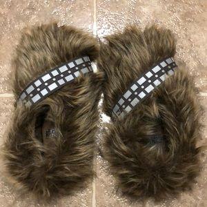 BRAND NEW - Star Wars Chewbacca slippers